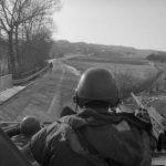 German border US patrols along Bad Hersfeld C 8170 Feb 3