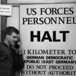 German border US patrols along Bad Kissingen 18 November 3