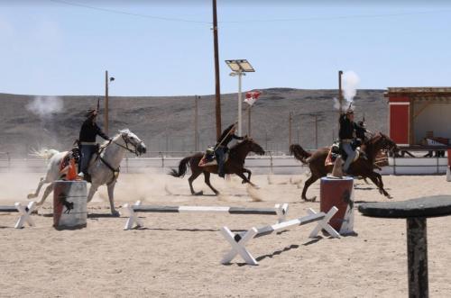 "Blackhorse ""box ride-along"" experience."