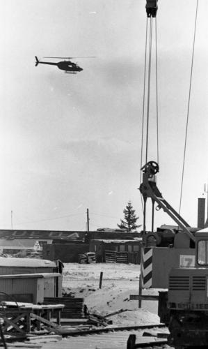 Fulda-Air Field-construction at-13 December 1980-(C 4391)(Cr