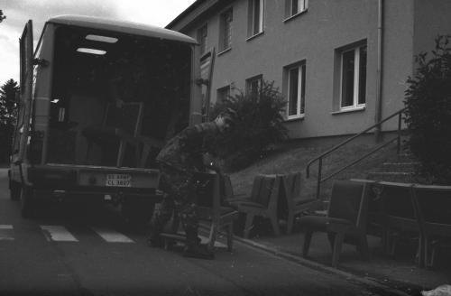 Fulda-Downs Barracks-closing-Housing-10 June 1994-(D 6482)(9