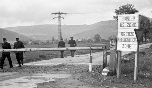German Border tour-HICOG-21 May 1951-(before wall)-73-041