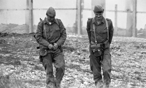 German border-East German patrols along Coburg-(Crocker)(C 5